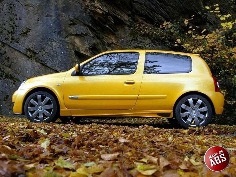 Dokładki Progów Renault Clio II < AF > - GRUBYGARAGE - Sklep Tuningowy